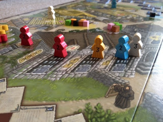 Picture of the church in Village board game