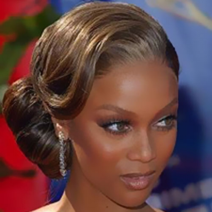 Black Hair Finger Waves Hairstyles Weave Updo For Prom
