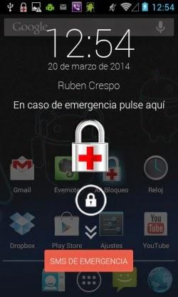 AID Lock, llamadas de emergencia con teléfonos bloqueados
