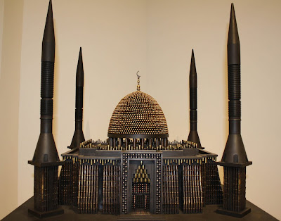 Guns and Bullet Sculptures by Al Farrow Seen On www.coolpicturegallery.us