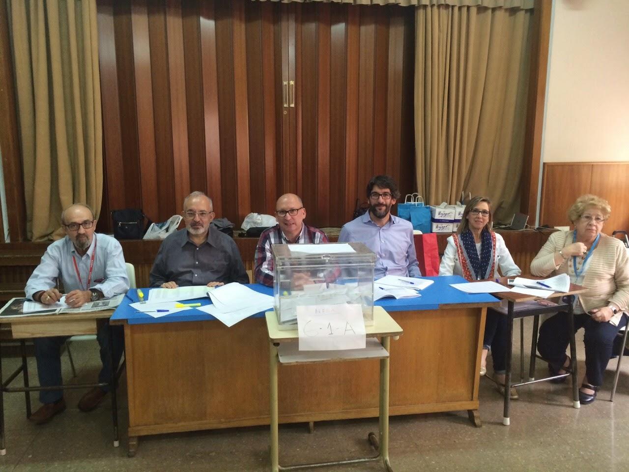 Elduendedelperchel las elecciones municipales de ayer for Presidente mesa electoral