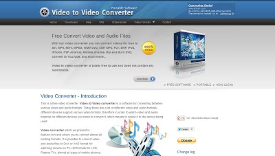 Video to Video Converter, AV Editors and Convertors