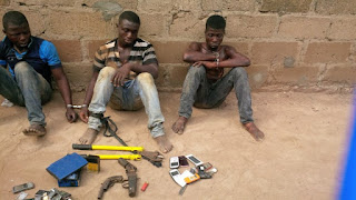 Robbers Arrested During Argument Over Sharing Of Loot