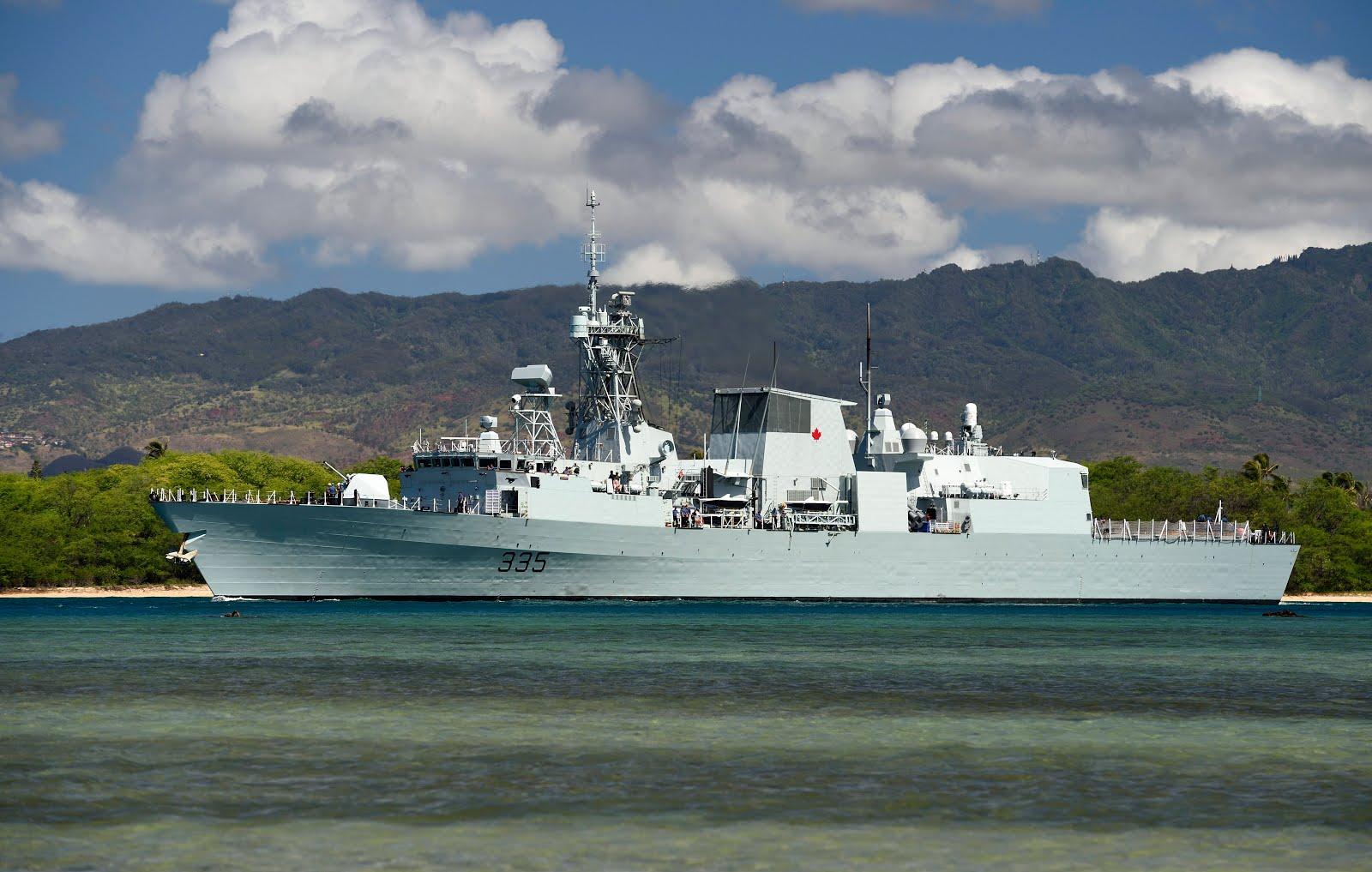 HMCS Calgary 335