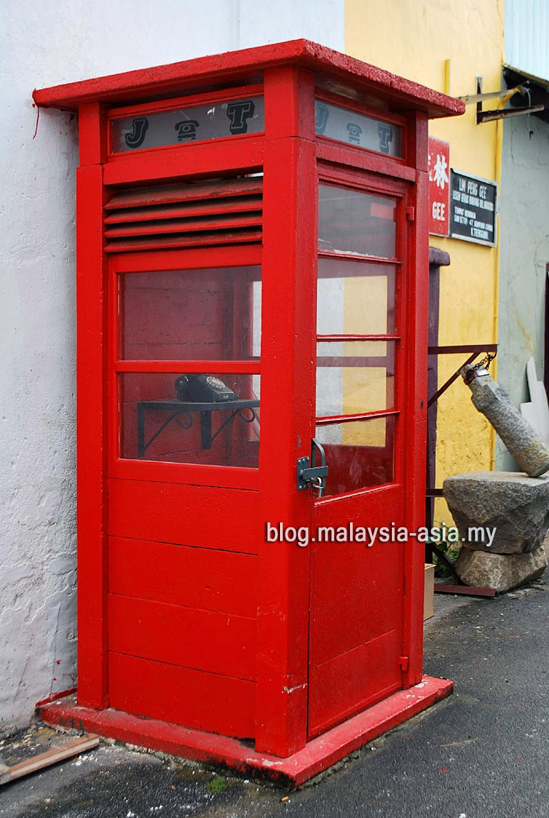 Red Telephone Booth Terengganu Malaysia