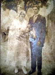 casamento do Vo Antonio com Vó Cramen, 1920