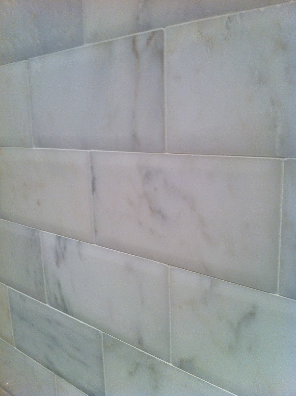 Pillowed subway tile columbialabelsfo finely frugal before u0026 after master bath dailygadgetfo Choice Image