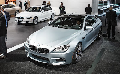 2014 BMW M6 Gran Coupe front end