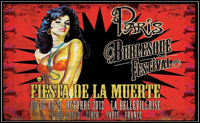 Paris Burlesque Festival 2012 La Bellevilloise Fiesta de la Muerte