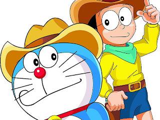 kartun, kartun jepang, anime, nobita, sizuka