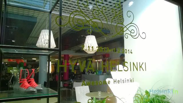 Hyvä Helsinki campaign at Design Forum Helsinki