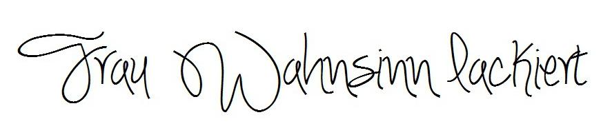 Frau Wahnsinn lackiert