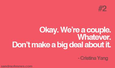 cristina yang quote sandra oh
