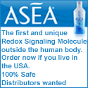 ASEA The first and unique Redox Signaling Molecule outside the human body