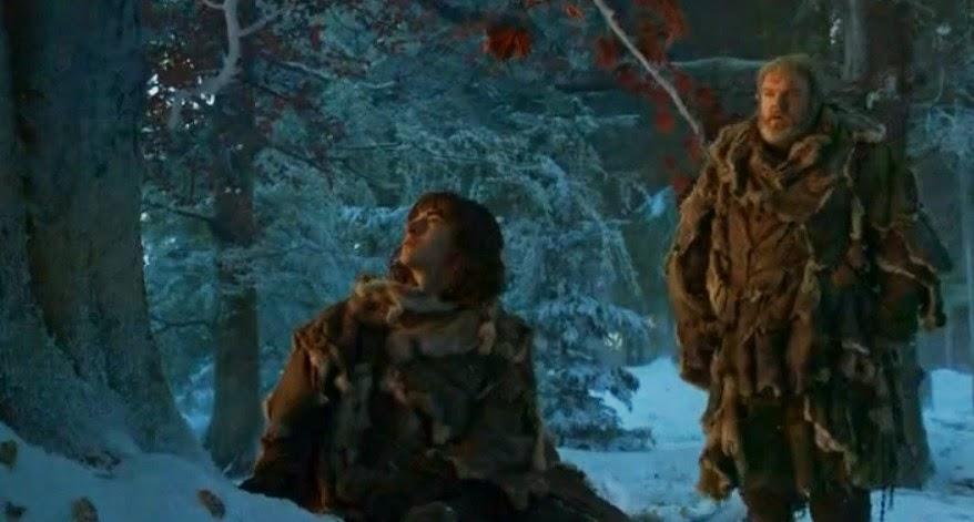 Bran con el arciano - Juego de Tronos en los siete reinos