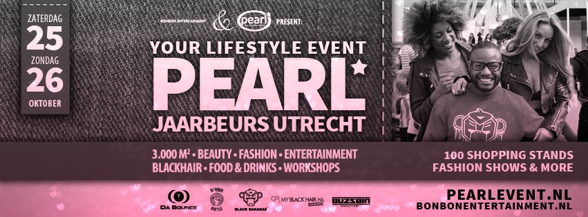 Pearl your Lifestyle event Jaarbeurs Utrecht 25 26 October 2014 tickets giveaway