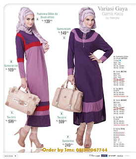 baju kerja wanita muslim