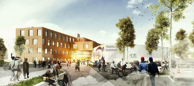01-Henning-Larsen-Wins-Technical-College-Silkeborg-Competition