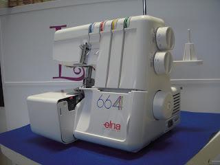 maquina de coser remalladora overlock elna remallar