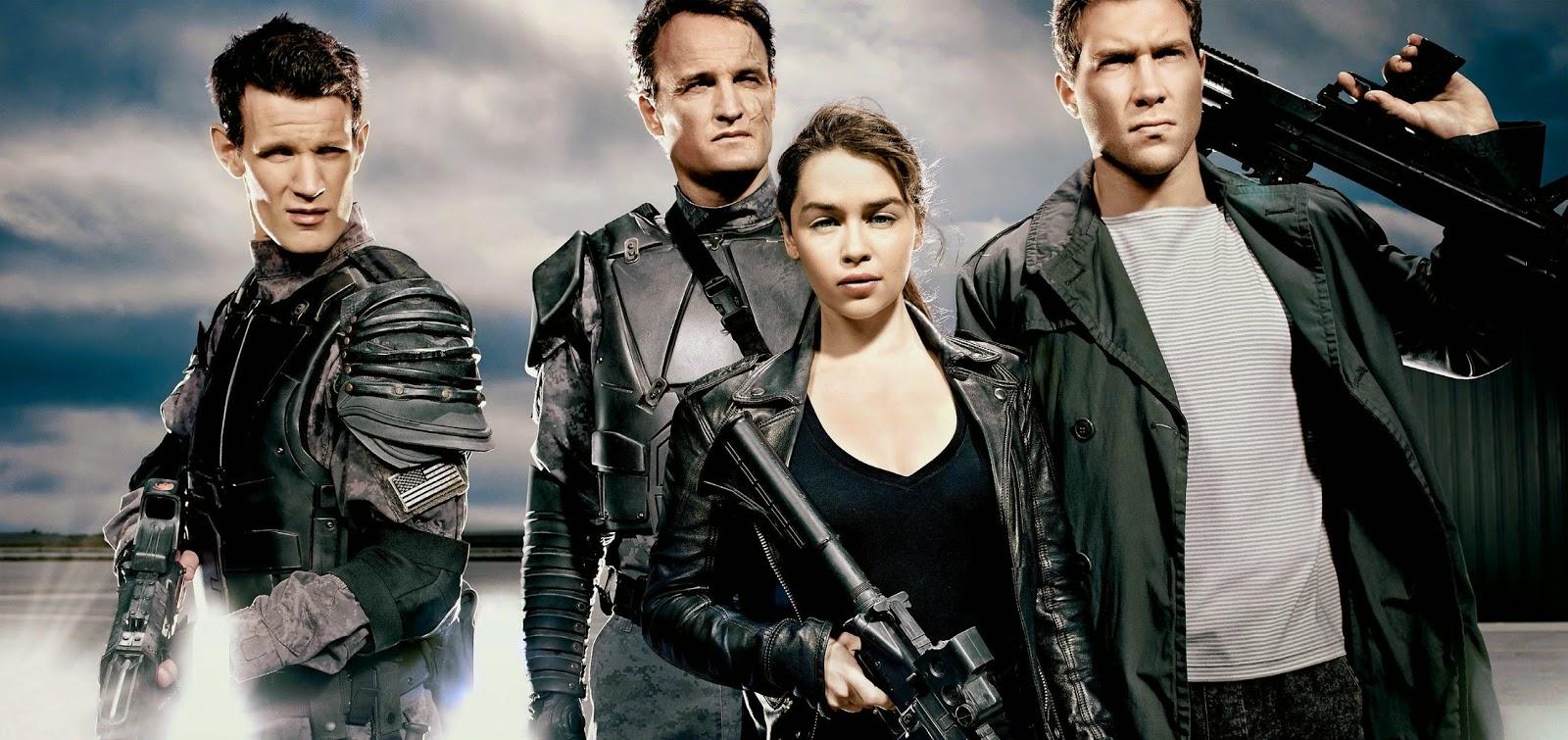 Veja Arnold Schwarzenegger e Emilia Clarke em imagens inéditas de O Exterminador do Futuro: Gênesis