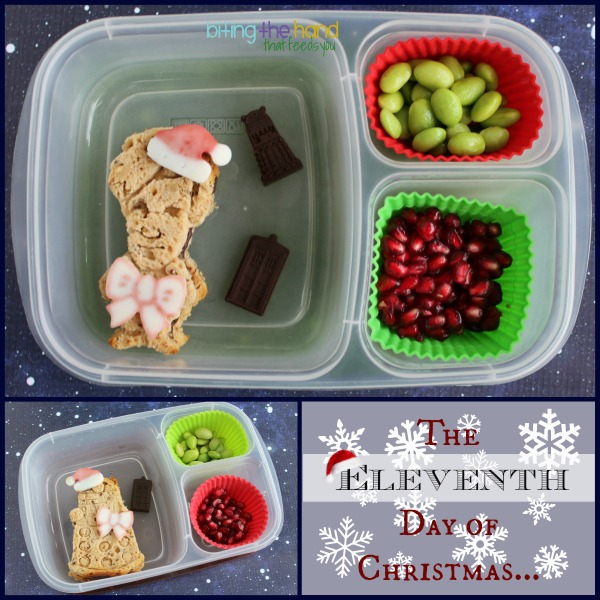Eleventh Day of Christmas - Doctor Who Holiday Lunches! at Biting the Hand That Feeds You