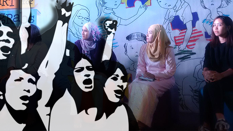 RAKYAT MARHAEN: Layanan tidak adil buat feminisme dalam politik dan