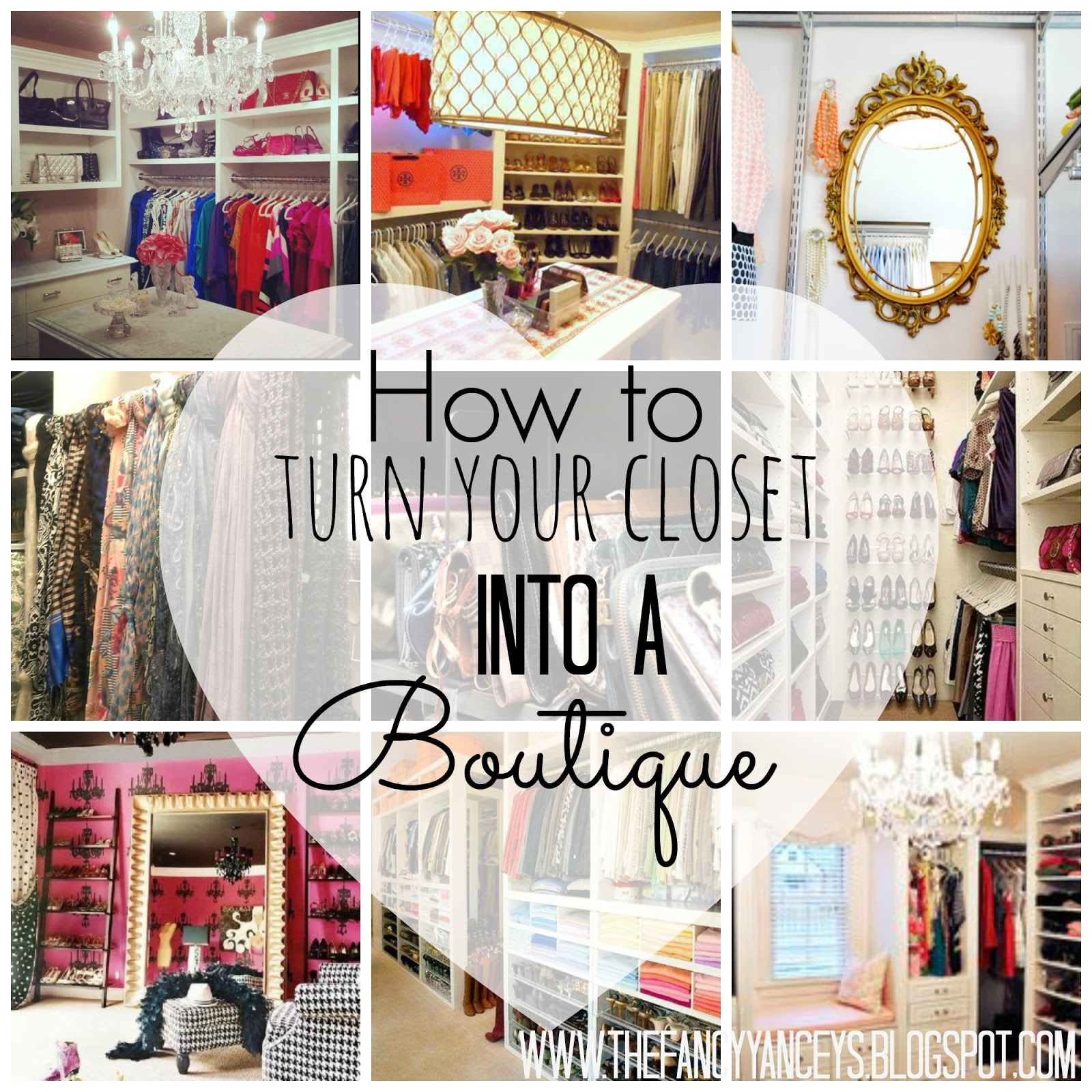 How to turn your closet into a boutique vintage romance