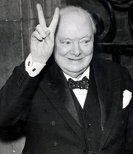 Personality ... MBTI Enneagram Winston Churchill ... loading picture