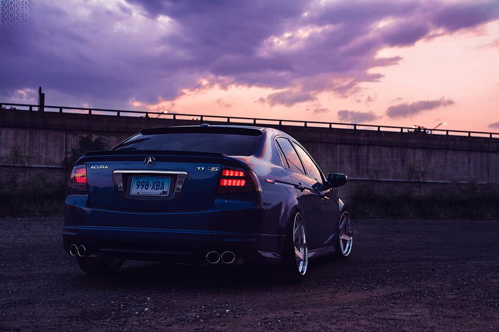 Acura TL, rodzinne sedany, mało znane auta, tuning