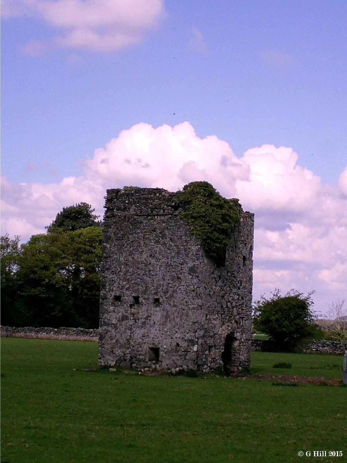 Ireland In Ruins Castle Rag Co Kildare
