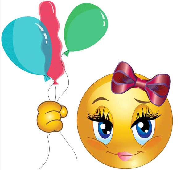 Balloons Smiley