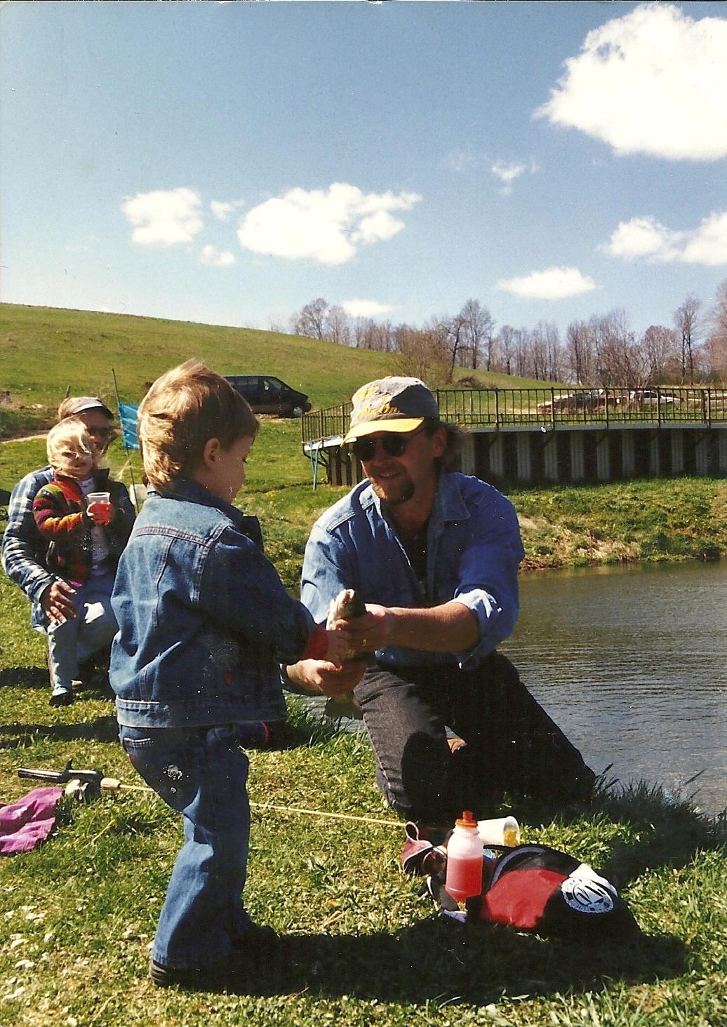 Cameron county pa news fishing season is here for Pa fishing season