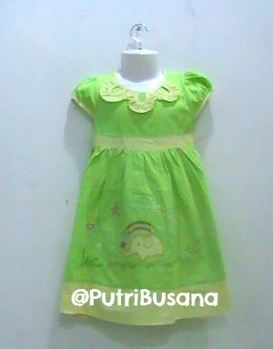 putri busana | dress pesta motif gajah