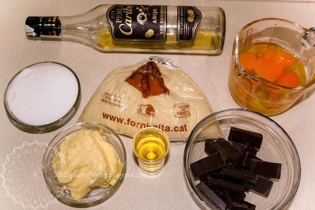 Tarta de chocolate y almendras (apta para celíacos)