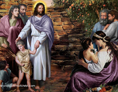 Jesus Bible Painting Picture