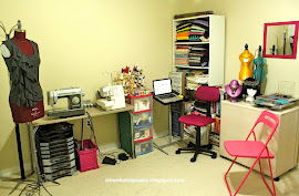 A glimpse of MY WORKROOM.
