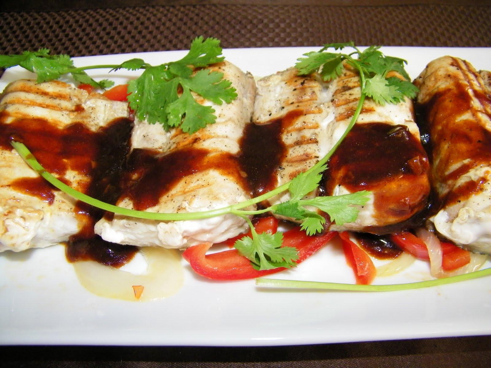 Little bellevue kitchen grilled blue marlin fillet for Marlin fish recipes