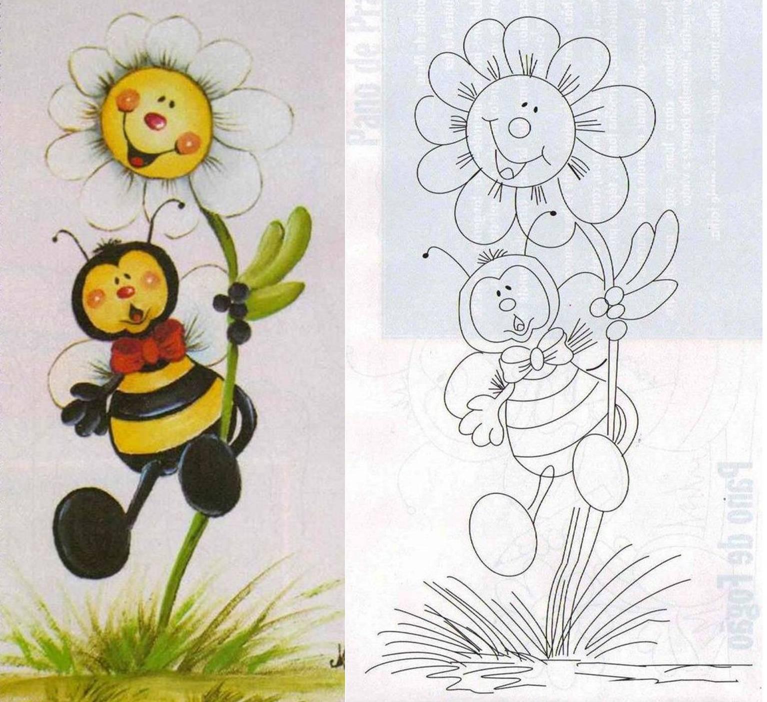 1000 images about primavera en el cole murales dibujos for Pinturas para pintar