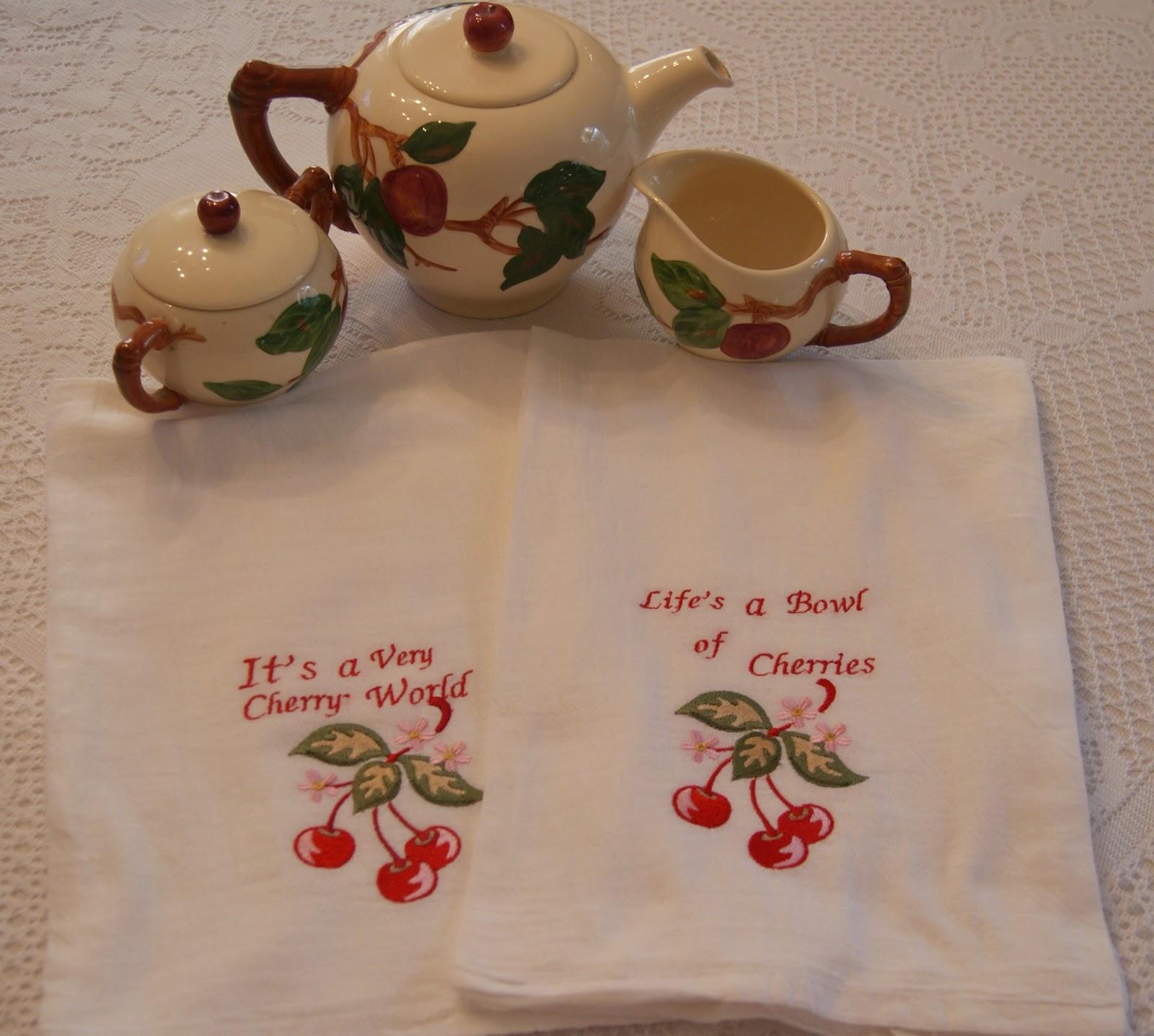 British Tea Linens