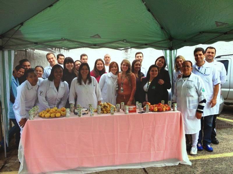 Em clima de descontração, cerca de trinta pessoas, entre estudantes e funcionários, participaram do Dia do Desafio no HCTCO