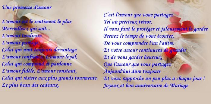 de votre bonheur - Texte De Felicitation De Mariage