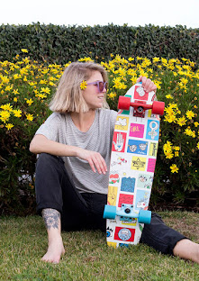 "Buy The ""Girl Power"" Cruiser Board Online At The Odells!"