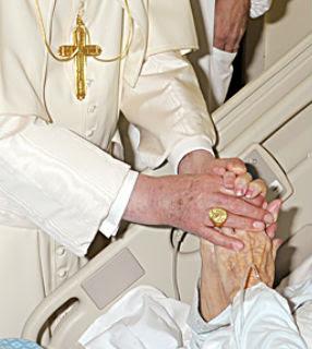 Mensagem do papa Bento XVI para o Dia Mundial dos Enfermos