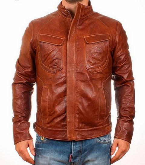 Кожанные Мужские Куртки