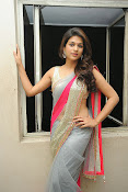 Shraddha das Latest Photos in Saree-thumbnail-12