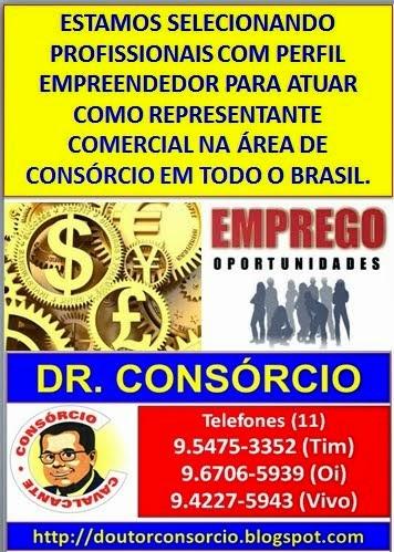 Venha trabalhar como vendedor ou representante de consórcio com o Dr. Consórcio em qualquer lugar d