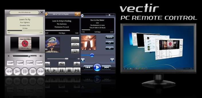Cara mengendalikan PC lewat HP dengan Vectir