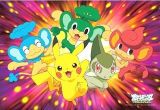 Pokemon BW Jigsaw puzzle 70pcs #2 Ensky