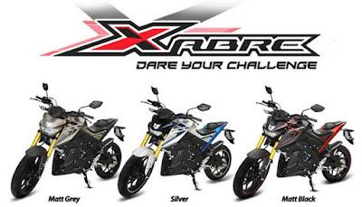 Pilihan warna Yamaha Xabre 150