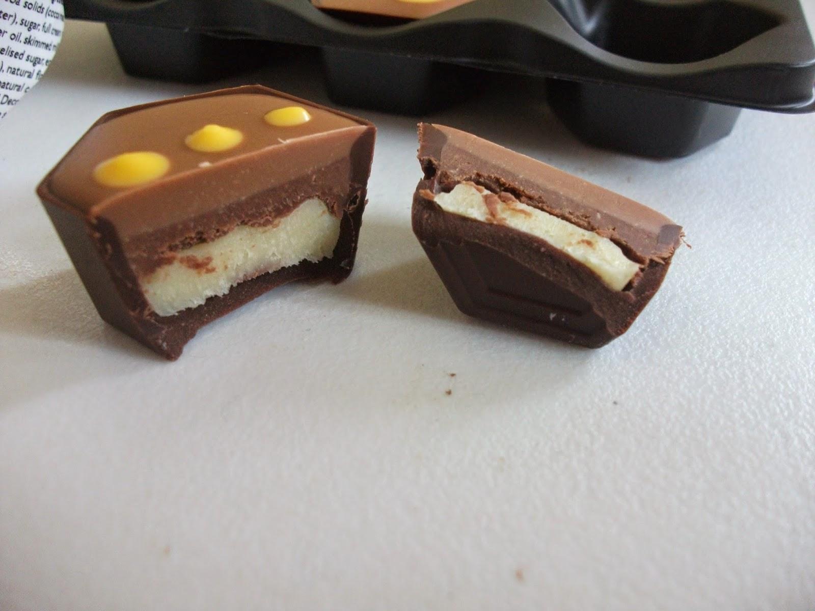 ... Snack Reviews: Hotel Chocolat Salted Peanut & Banana Pralines Review